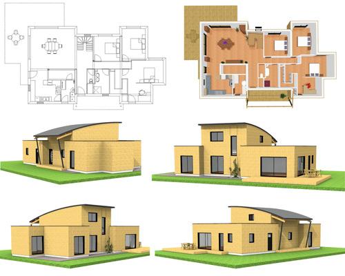 Construire Sa Maison En D Gratuit Finest Le Systme Contour