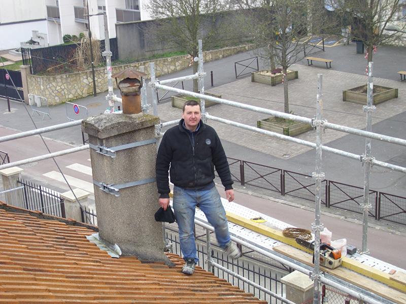 Sur l vation toiture rehaussement de toiture entreprise for Rehaussement de toiture