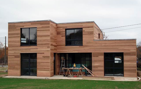 Architecture : Construction de maison ossature bois par un architecte