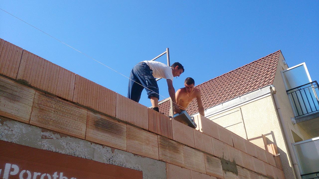 Construction maison avec l 39 entreprise marchis 15 ans d for Entreprise agrandissement maison 95